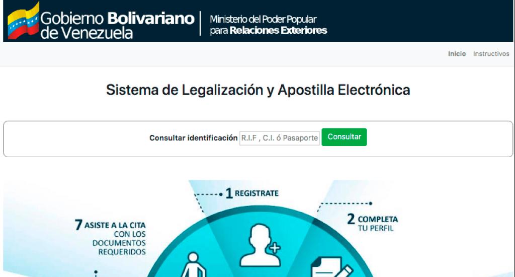 apostillar documentos venezuela