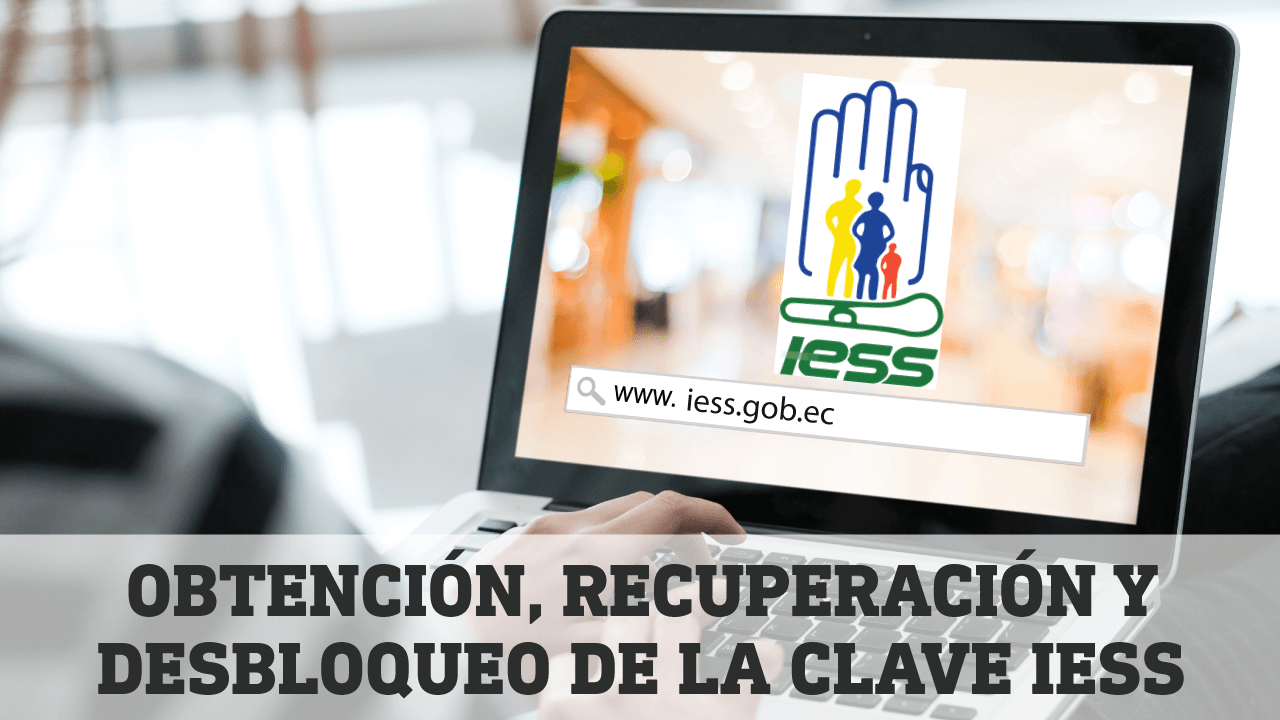 Obtencion Recuperacion y Desbloqueo de la clave IESS