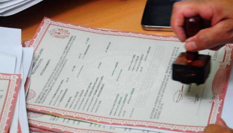 Legalizar partida de nacimiento venezuela